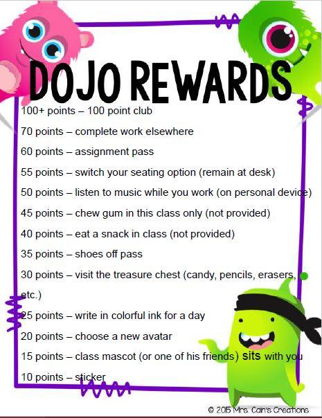 1819 Dojo Rewards 1
